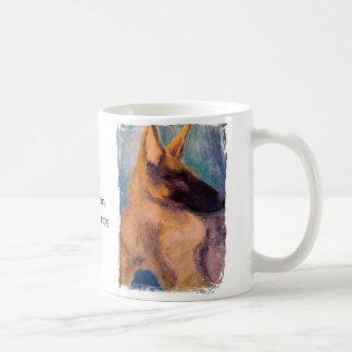 Mug, German Shepherd Dog Art