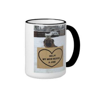 Mug German Shepherd Help My Mom Needs A Job
