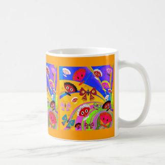 Mug Girls Kid's Butterfly Collage