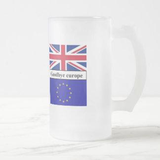 Mug Goodbye Europe