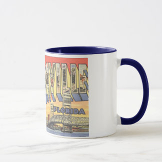 Mug_Greetings from JACKSONVILLE FLORIDA_Fla_FL Mug