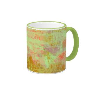 Mug Grunge texture the lime