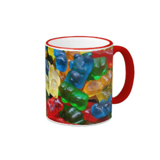mug, gummy bears ringer mug