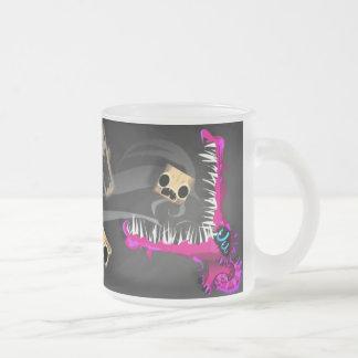 mug_H Frosted Glass Coffee Mug