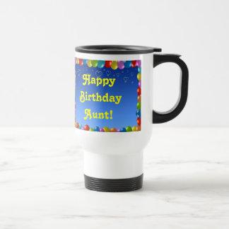 Mug Happy Birthday Aunt