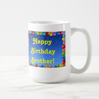 Mug Happy Birthday Brother