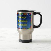 Mug Happy Birthday Cousin