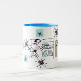 "Mug ""Happy Homemaker"" Pattern"