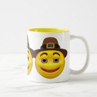 Mug - Happy Thanksgiving Pilgrim