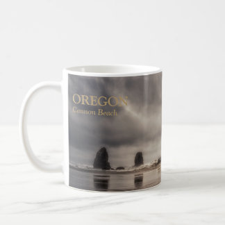 Mug: Haystack Rock And Needles Coffee Mug