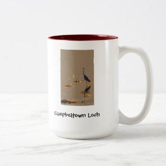 Mug - Heron on Campbeltown Loch