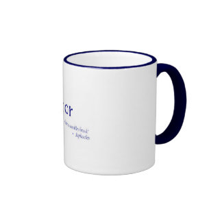 Mug - Honor - Sophocles