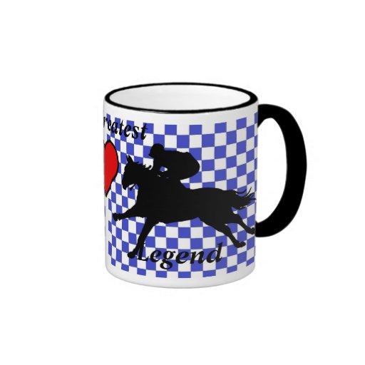 mug - horse racing legends