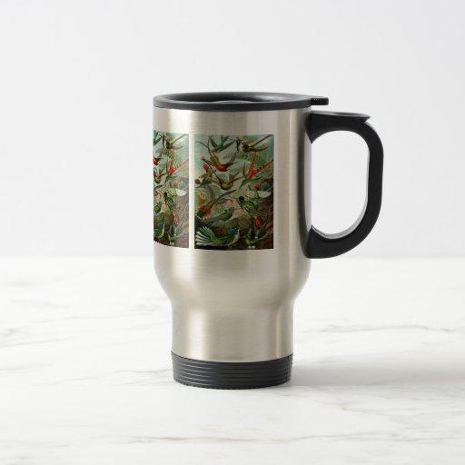 """Mug:  Hummingbirds (""""Trochilidae"""") by Haeckel 15 Oz Stainless Steel Travel Mug"""