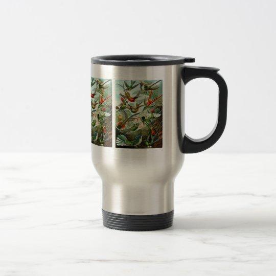 """Mug:  Hummingbirds (""""Trochilidae"""") by Haeckel Travel Mug"""