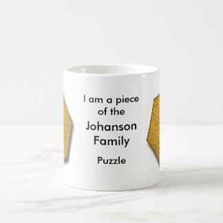 Mug - I am a piece of the ___ Family puzzle