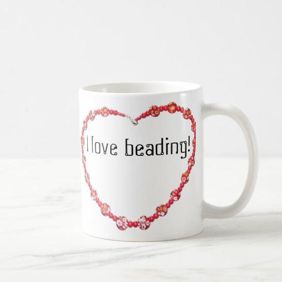 Mug - I Love Beading