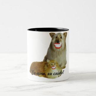 Mug I love, I I take care of!
