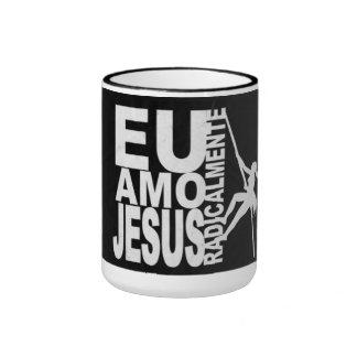 Mug, I love Jesus Radically Ringer Mug
