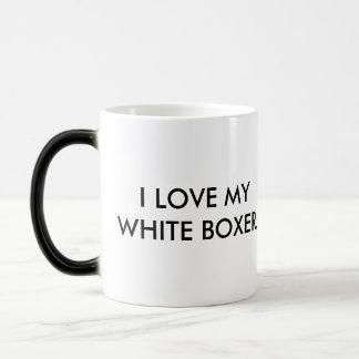 Mug - I Love My White Boxer