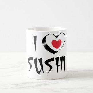 Mug I love Sushi