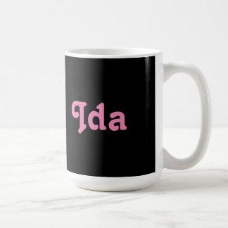 Mug Ida