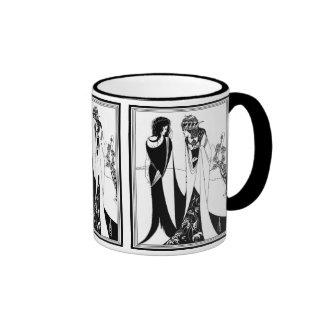 Mug: Illustration by Aubrey Beardsley