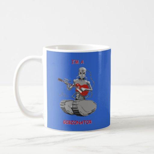 Mug-I'm A Gibzonator Classic White Coffee Mug