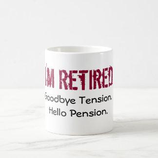 Mug- I'm retired Classic White Coffee Mug