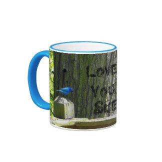Mug, Indigo Bunting & Rose~Breasted Grosbeak Birds