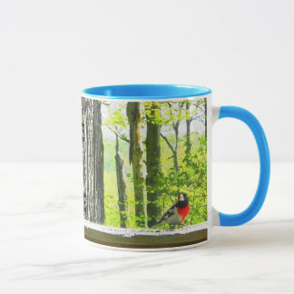 Mug, Indigo Bunting & Rose~Breasted Grosbeak Birds Mug
