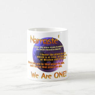 mug inspirational one liners namaste coffee mug reb9db366d09345c3b8aaf00f7e395347 x7jg5 8byvr 324 Pyrex Coffee Mug Spring Blossom Inspired Pyrex Two Tone Coffee Mug Zazzle