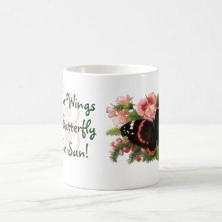 Mug ~ Irish Proverb May Wings Butterfly Kiss Sun!