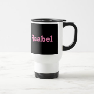 Mug Isabel
