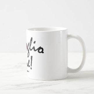 Mug: Italian Ti voglio bene Classic White Coffee Mug