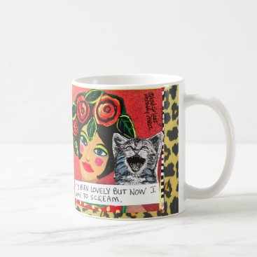 Coffee Themed MUG-IT'S BEEN LOVELY BUT NOW I HAVE TO SCREAM COFFEE MUG