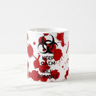 Mug Keep Calm And Kill Zombies