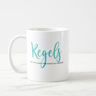 Mug - Kegels (So you don't pee when you sneeze)