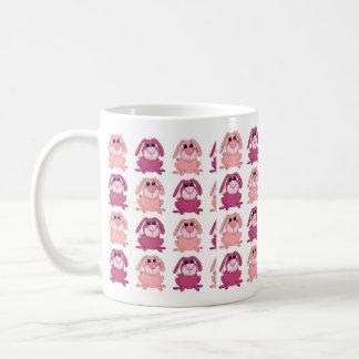 Mug Kid's Baby Girls Pink Bunnys
