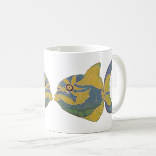 Mug - Kissing Fish
