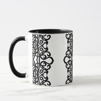 Mug Lace Embroidery Design