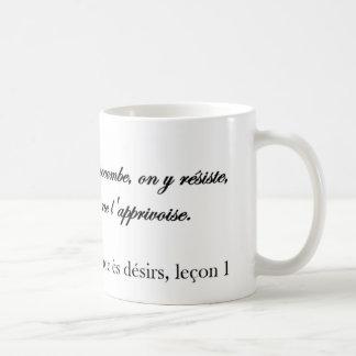 Mug Licence be desires, lesson 1