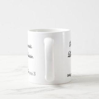 Mug Licence be desires, lesson 3