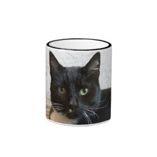 Mug:  Lilly the Cat Ringer Coffee Mug