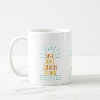 Mug (Live, love, laugh, learn)