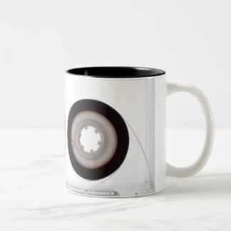 Mug : Magnetic Tape Audio Cassette. Vintage Theme