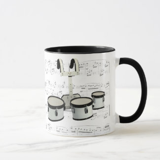 Mug - Marching Drums with sheet music
