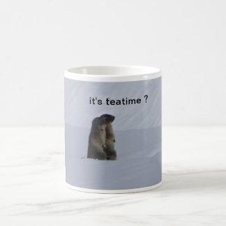 mug marmotas taza clásica