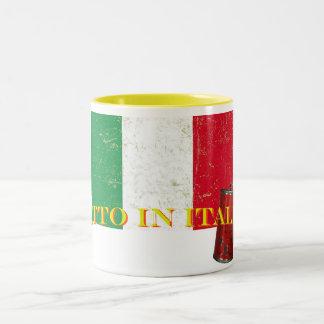 Mug matched two-tone Fatto in Italia 180°