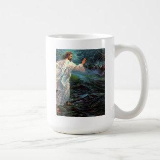 Mug: Matthew 14:29-30 Coffee Mug